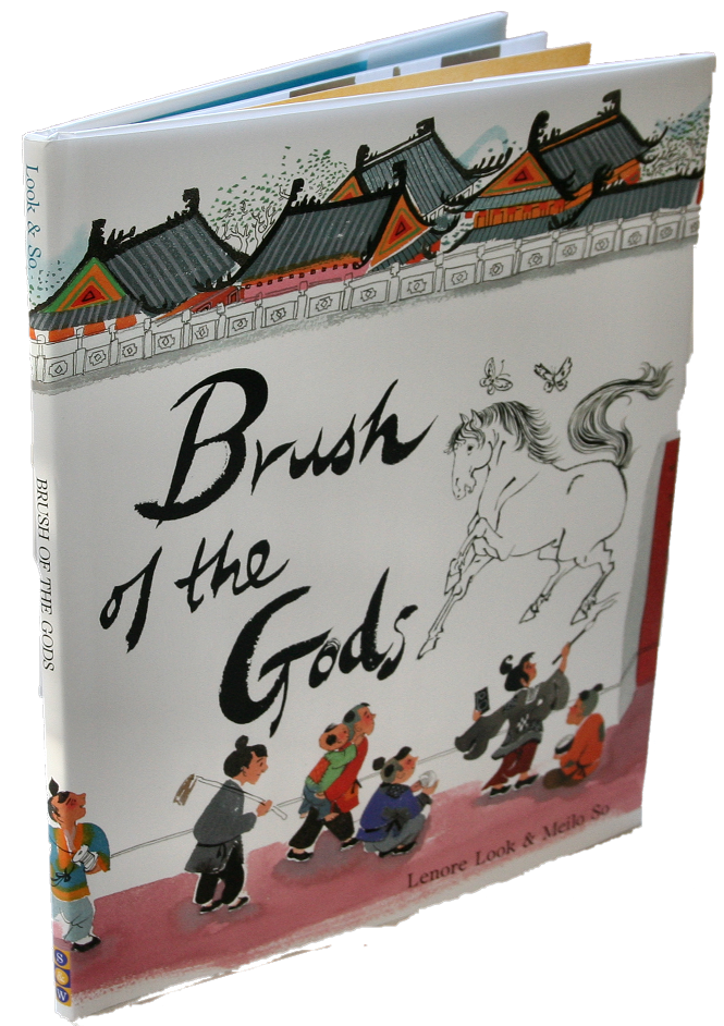 books white - brush of the gods