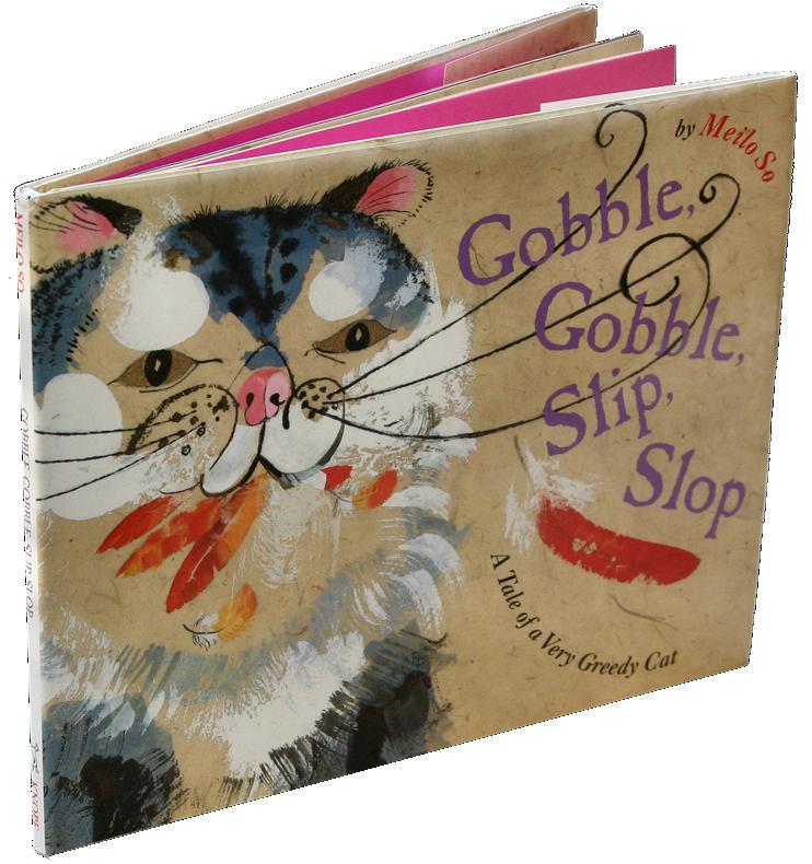 books white- gobble gobble slip slop