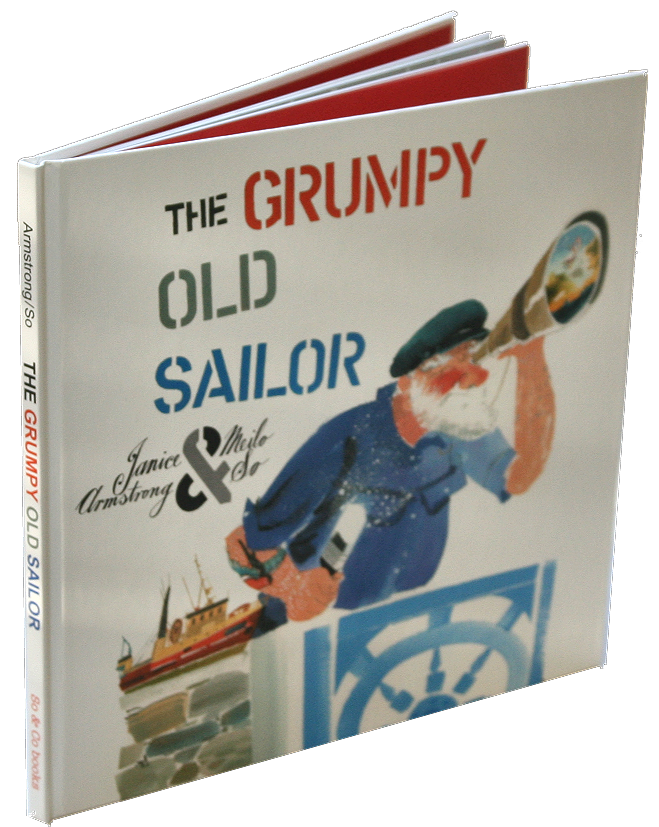 books white- grumpy old sailor