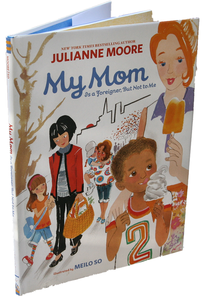 books white- my mom
