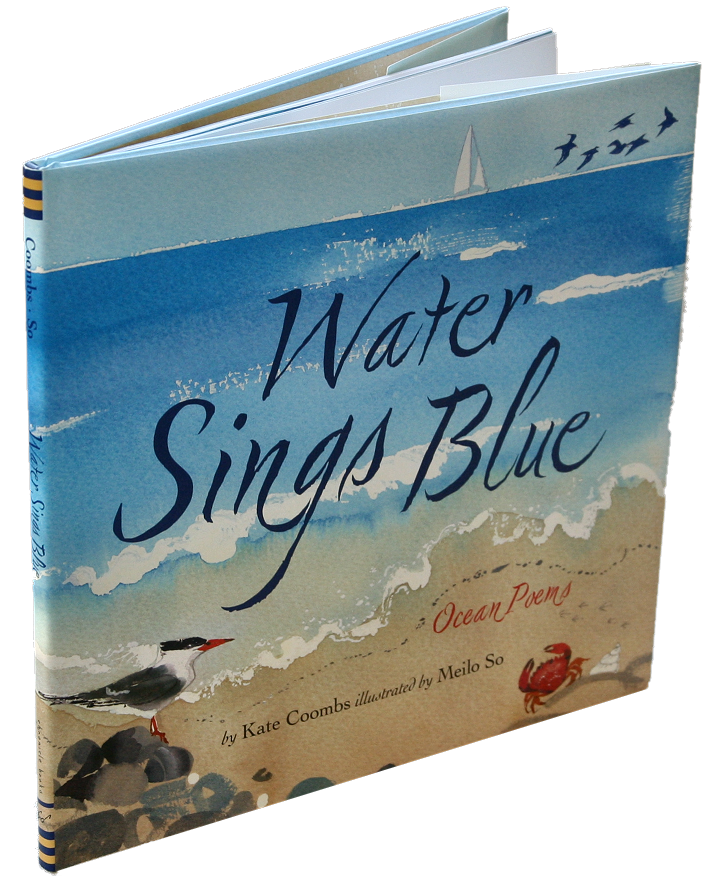 books white- water sings blue